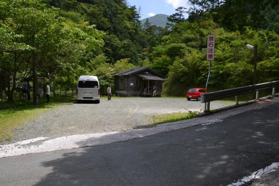 白猪谷 キャンプ場 オートキャンプ場 高知 いの町