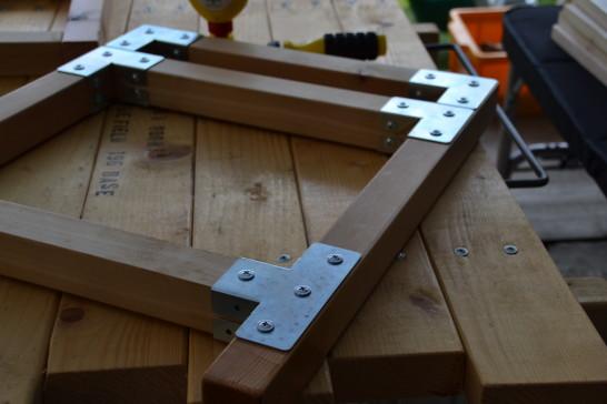 キャンプ キャンプ道具 棚 自作 DIY 組立