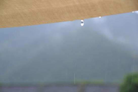 タトンカ タープ 2TC コットンタープ 雨