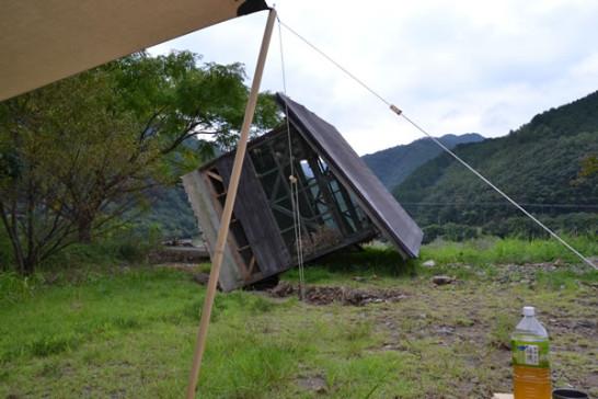 高知県 三島キャンプ場 四万十川