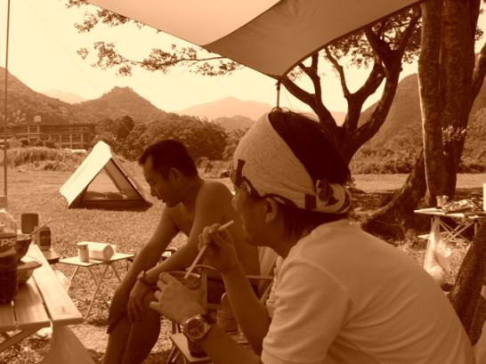 キャンプの記憶