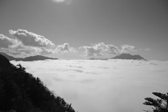 絶景 瓶ヶ森 雲海