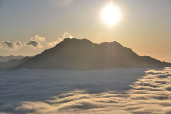 瓶ヶ森 石鎚山 絶景 登山 テント泊