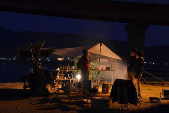 キャンプ BAR バー