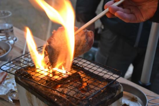 キャンプ ミニ七輪 炭火焼