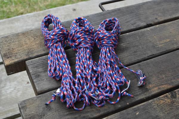 パラコード キャンプ ロープ