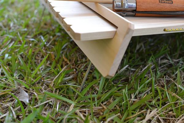 木製 テーブル キャンプ ウッドテーブル 折りたたみ 登山用