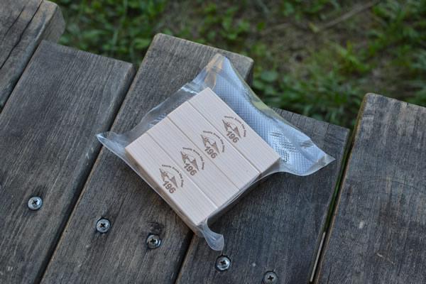 自在 ロープタイトナー 木製 テント タープ