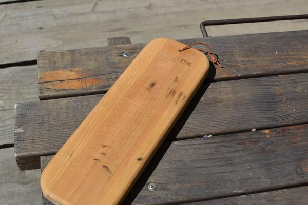 キャンプ まな板 四万十 ひのき カッティングボード 196 お手入れ方法