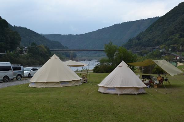 高知 キャンプ 四万十 ふるさと交流センター