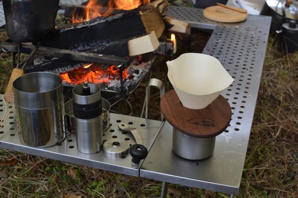 196 キャンプ コーヒー ドリップ