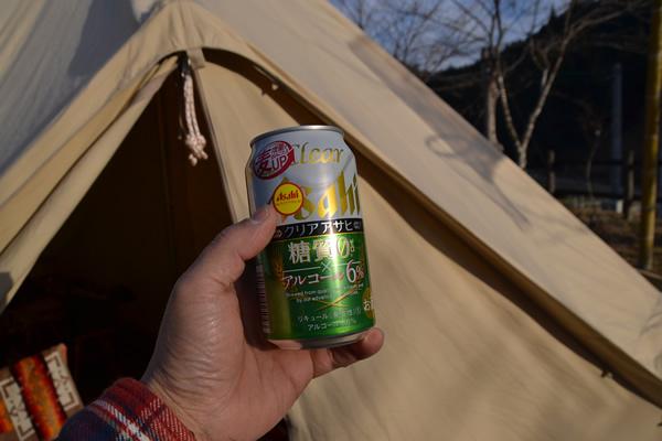 キャンプ 料理 ビール