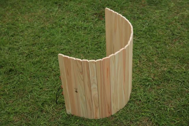 196 キャンプ キャンプ用品 キャンプ道具 アウトドア 木製 ひのき 風防 ウィンドスクリーン