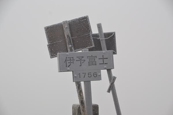 伊予富士 高知 愛媛 四国 登山 樹氷 霧氷 紅葉 東黒森
