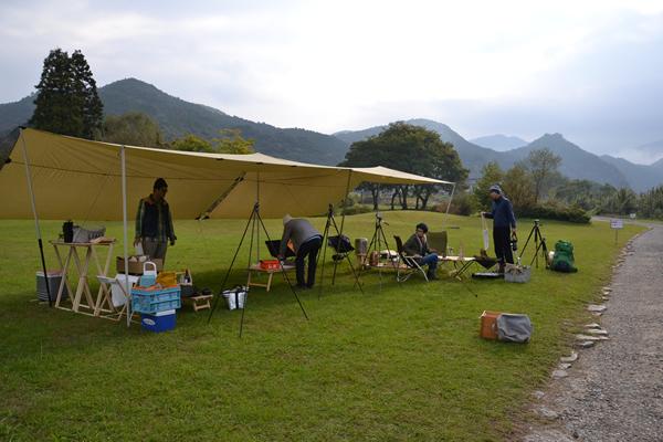 高知 キャンプ 196 木製キャンプ用品 四万十 ふるさと交流センター