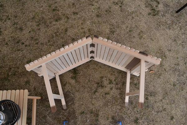 テーブル 折りたたみ キャンプ 木製 ウッド 196