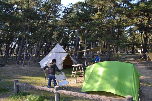 高知市 キャンプ キャンプ場 種崎 桂浜 千松公園 せんしょう 196