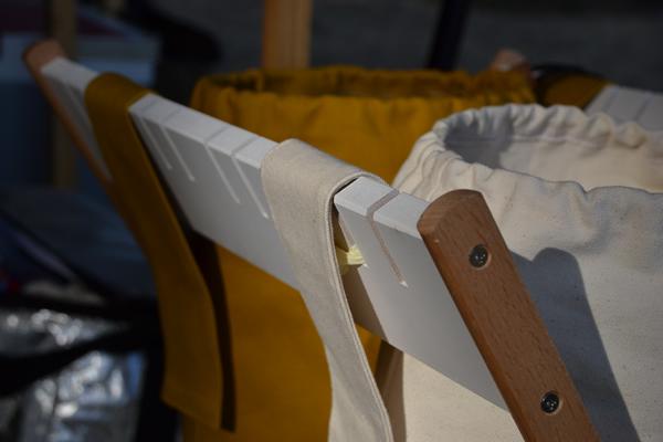 キャンプ ゴミ箱 オリジナル 196 木製 ウッド