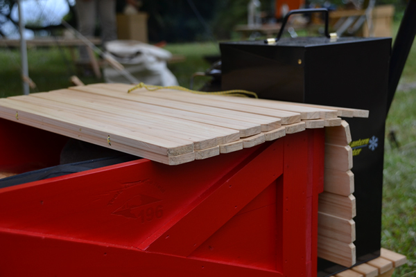 木製 風防 キャンプ アウトドア