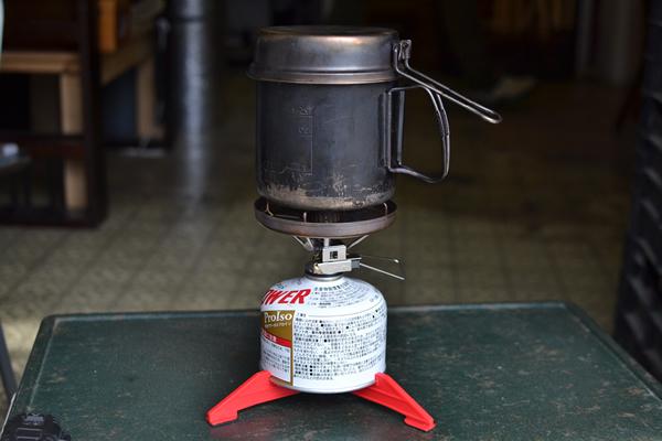 シングルバーナー オールインワン スノーピーク オートイグナイタ OD缶