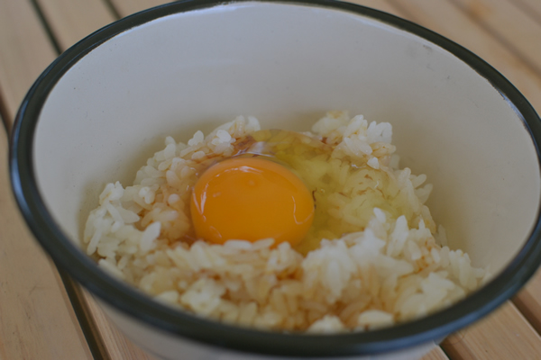 キャンプ インスタ映え 料理 グランピング ギャザリング 196 卵掛けご飯