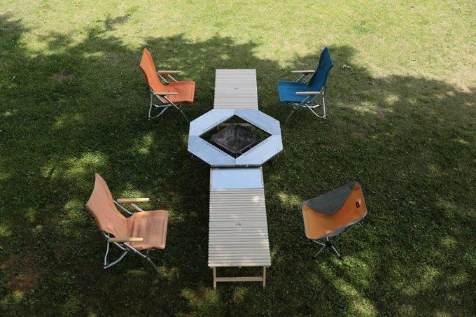 ウッドテーブル キャンプ テーブル 196テーブル