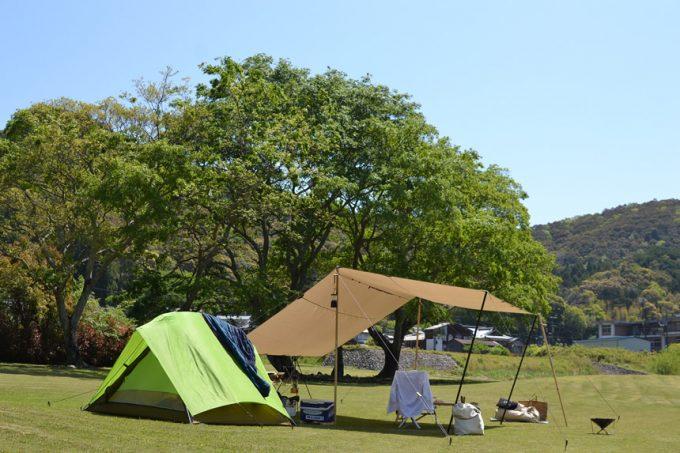 高知 キャンプ 四万十川 ふるさと交流センター