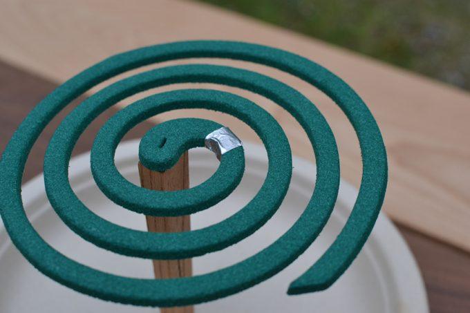 キャンプ 蚊取り線香 スタンド スティック モスキート モスキートコイル 蚊取り線香立て