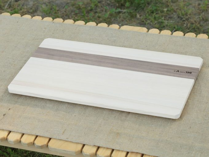 四万十ひのき まな板 カッティングボード キャンプ ウォールナット 特大 大
