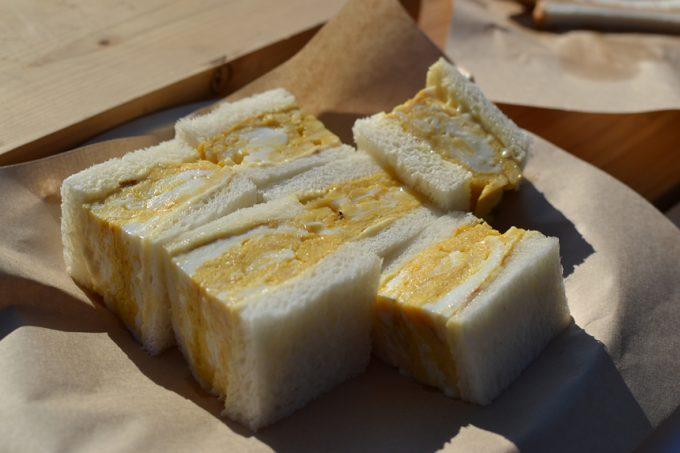 キャンプ 料理 卵サンド タマゴ サンド