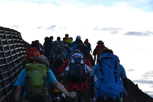 富士山 初登山
