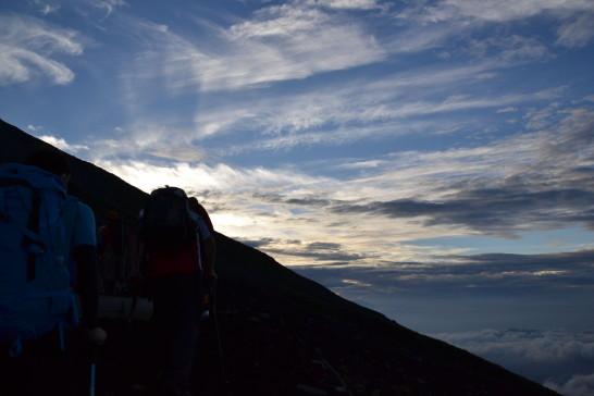 富士山 登山 富士登山 初心者 景色 写真