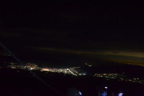 富士山 登山 夜景 富士登山 初心者 景色 写真