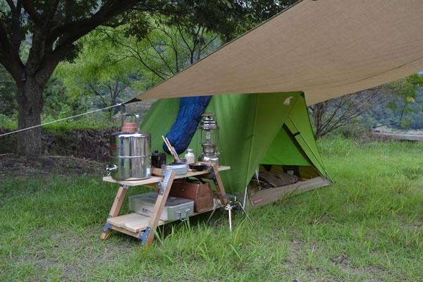 キャンプ 三島キャンプ場 高知 四万十川