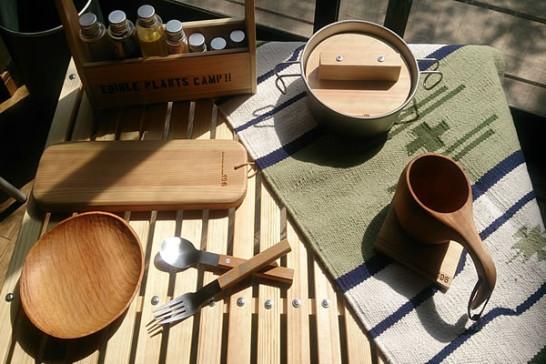 キャンプ テーブル ウッドテーブル キャンプ道具
