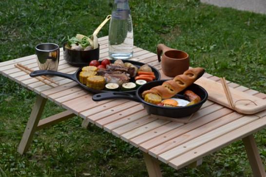 キャンプ用品 キャンプ道具 木製 テーブル ウッドテーブル おしゃれ