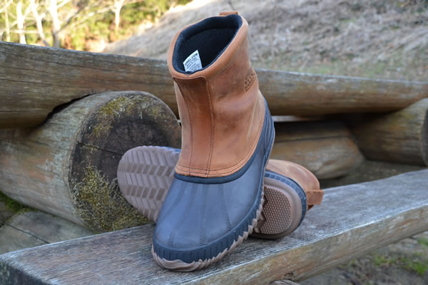 キャンプ ブーツ ソレル