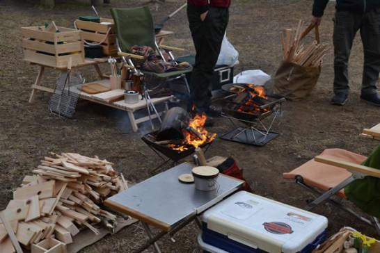 キャンプ 焚火 スノーピーク 焚火台