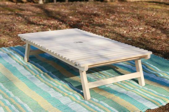 キャンプ テーブル