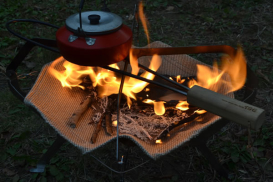 焚き火台 五徳 モノラル