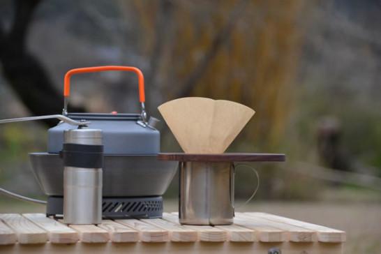 木製 コーヒードリッパー