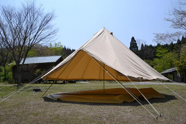 ベルテント キャンバスキャンプ