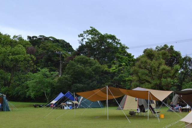 高知 キャンプ 土佐清水 爪白キャンプ場