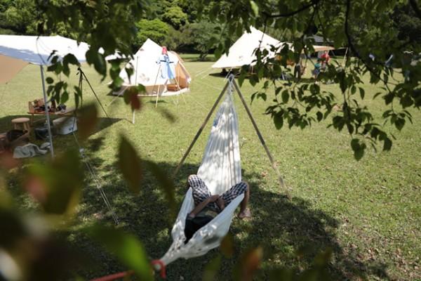 キャンプ ハンモック
