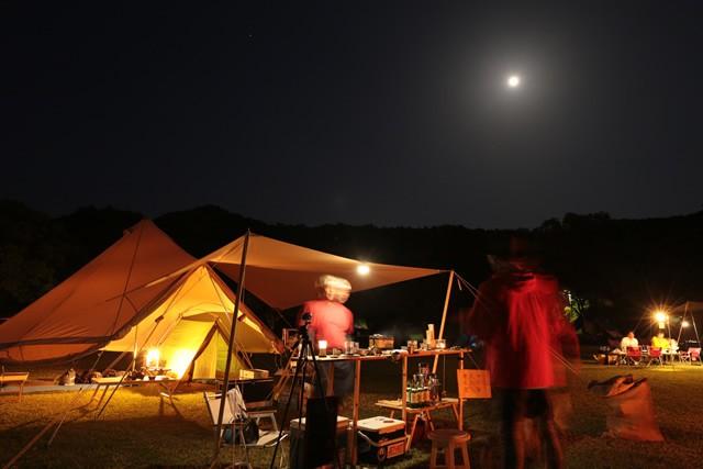 キャンプ 高知 爪白