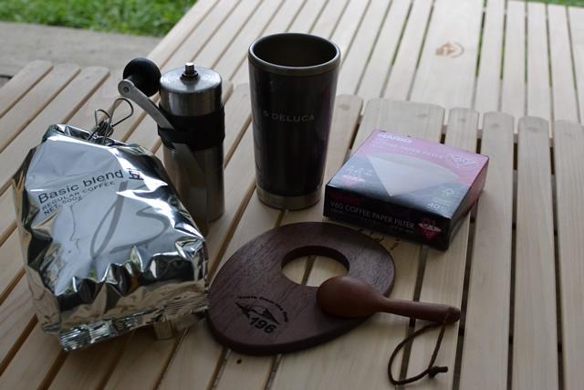 コーヒードリッパー キャンプ