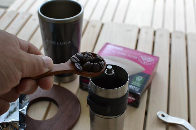キャンプ コーヒー ドリップ
