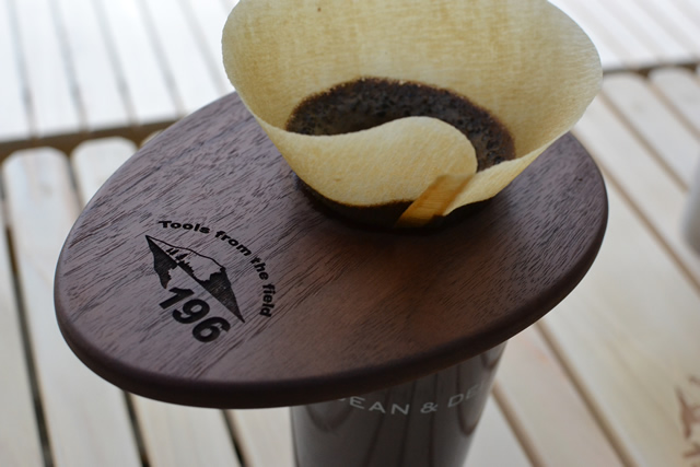 日本一薄い木製コーヒードリッパー