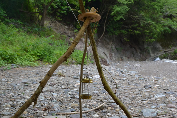 木製 トライポッド リング ウッド