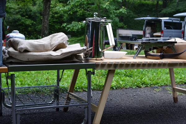 テントマーク ワークテーブル LOW ウッドテーブル